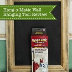 Hanging Art easily using Hang-o-Matic
