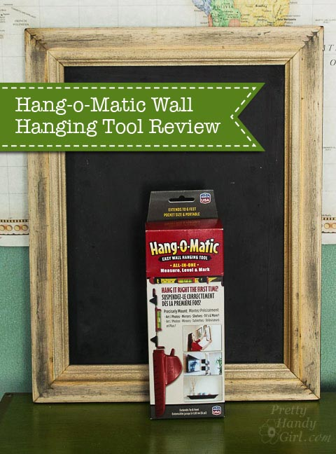 Hang-O-Matic Wall Hanging Tool Review | Pretty Handy Girl