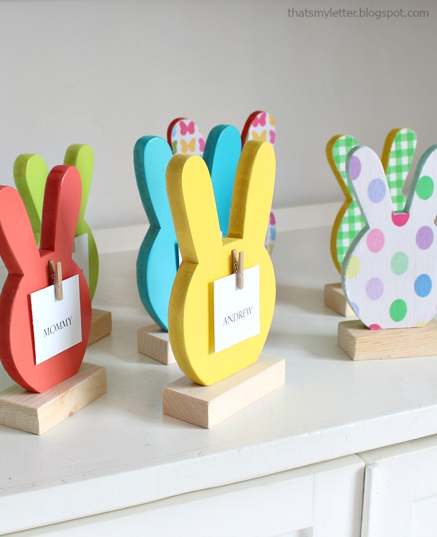 bunny place cards 4