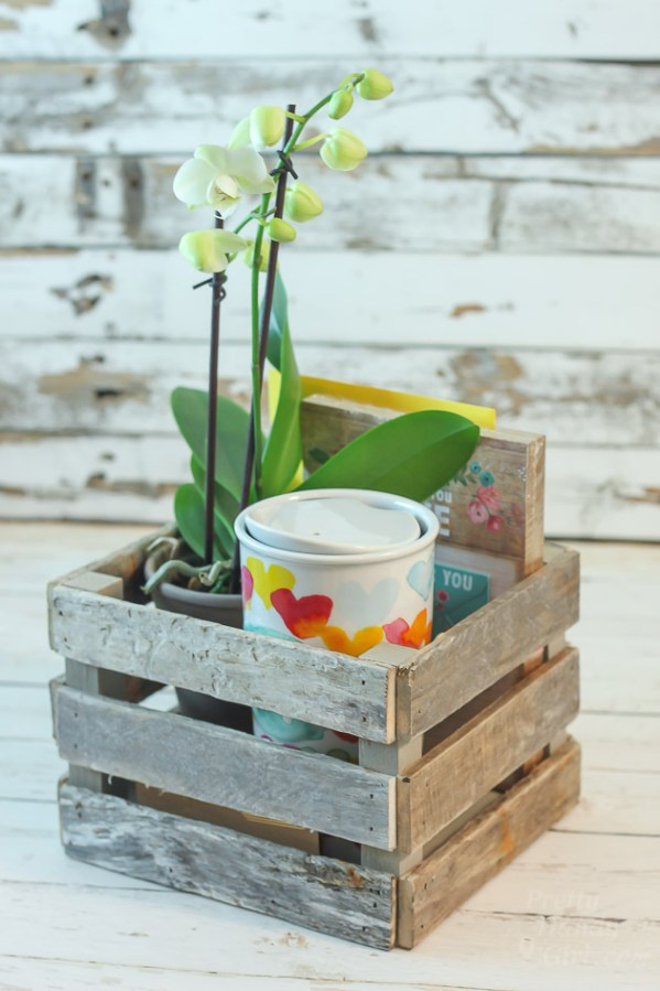 How to Make a Driftwood Gift Crate by Pretty Handy Girl
