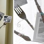 Fork Photo Holder | Pretty Handy Girl
