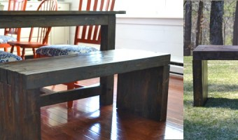DIY Indoor/Outdoor Dining Bench   Pretty Handy Girl