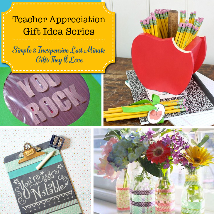 Teacher Appreciation Gift Ideas Series | Pretty Handy Girl