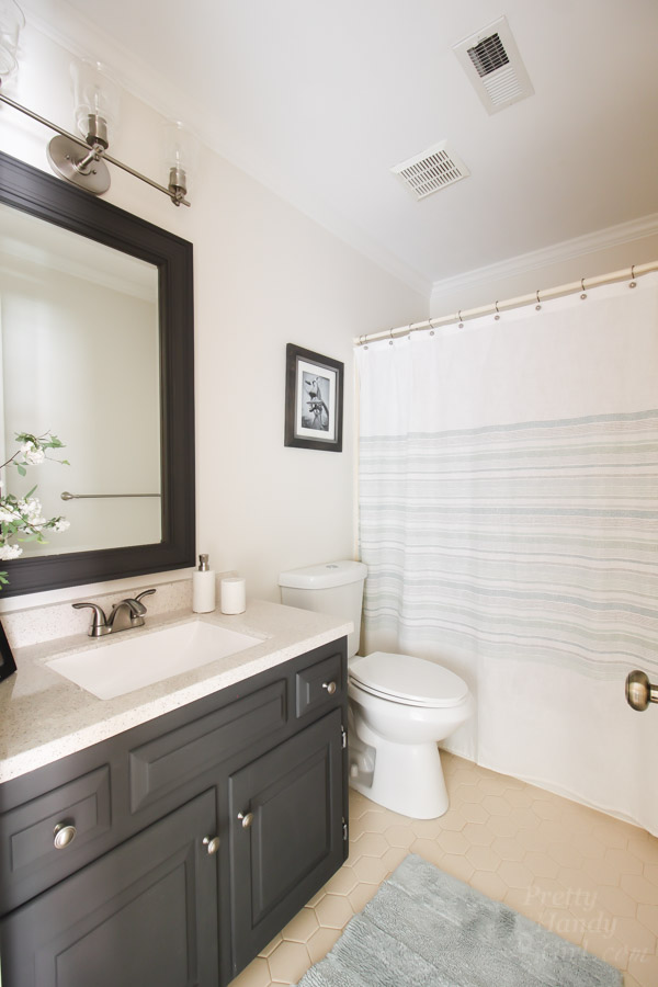 You Don't Have to Gut Your Dated Bathroom | Pretty Handy Girl