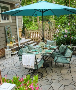 garden outdoor party ideas