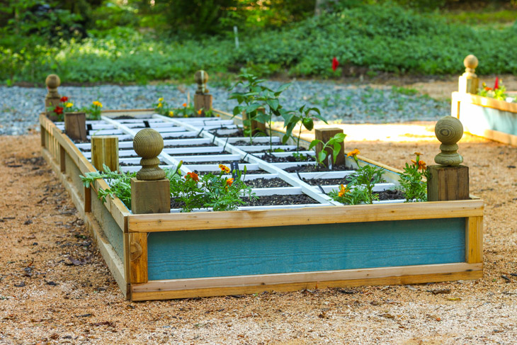 how to build a raised planter bed