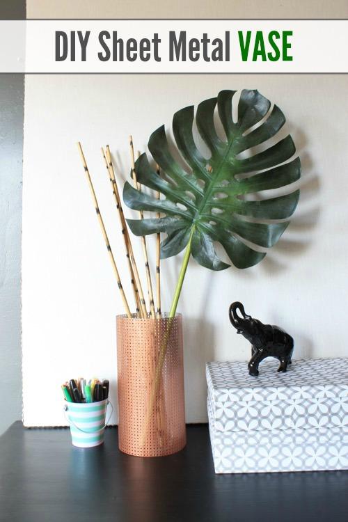 DIY Sheet Metal Vase