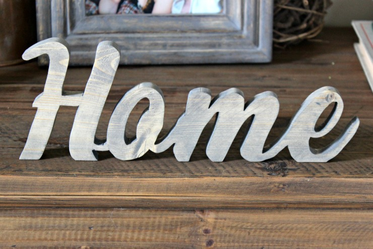 Wooden Home Signs Decor