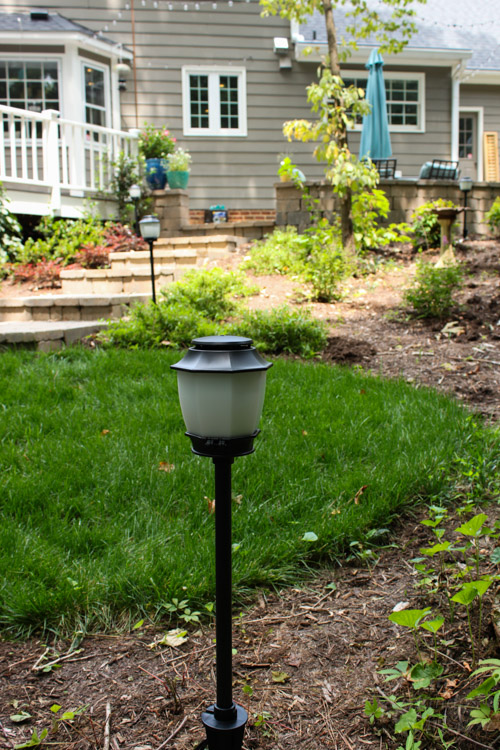 How to Install Low Voltage Landscape Lights (that also repel mosquitos!)   Pretty Handy Girl