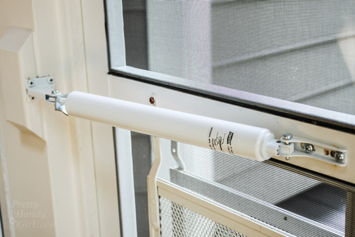 How to Replace a Screen Door Hydraulic Closer | Pretty Handy Girl & Easy Fix for a Screen/Storm Door Closer - Pretty Handy Girl