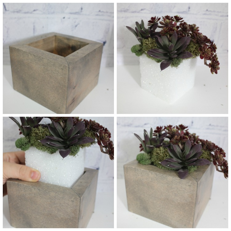 DIY Mini Planters I Pretty Handy Girl