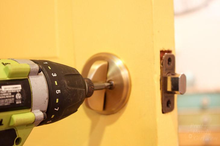 How to Replace Door Knobs | Pretty Handy Girl