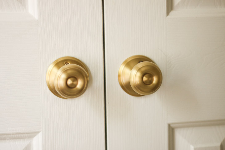 How to Replace Door Knobs | Pretty Handy Girl