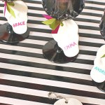 Clay Skull Placecards | Pretty Handy Girl