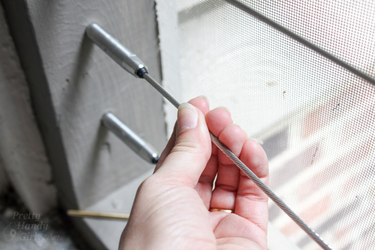 How to Install Cable Railings | Pretty Handy Girl