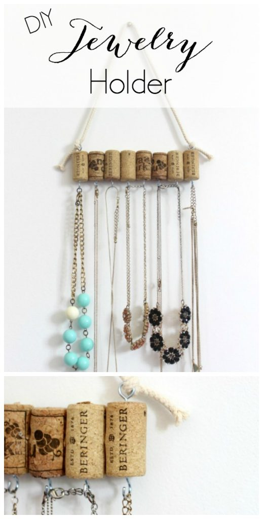 Diy Jewelry Holder Pretty Handy Girl