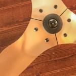 Installing the Most Beautiful Ceiling Fan | Haiku Copper Luxe Ceiling Fan | Pretty Handy Girl