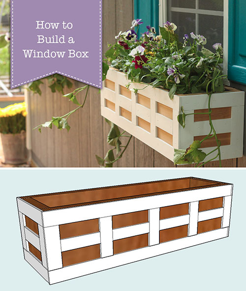 How to Build Window Boxes   Pretty Handy Girl