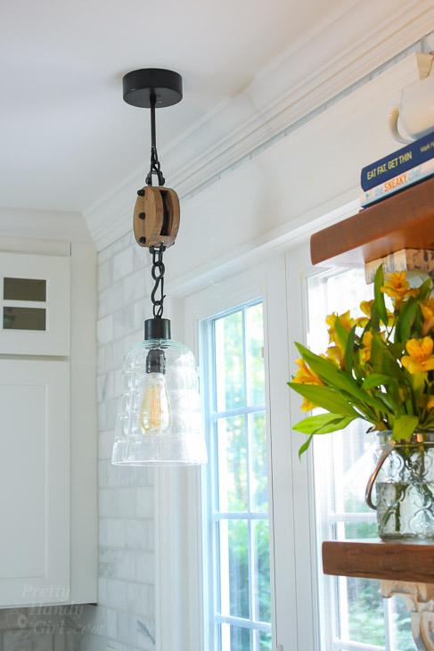 Fall Decor in a Rustic Farmhouse Kitchen | Pretty Handy Girl