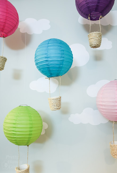 Easy to Make Hot Air Balloon Decorations   Pretty Handy Girl