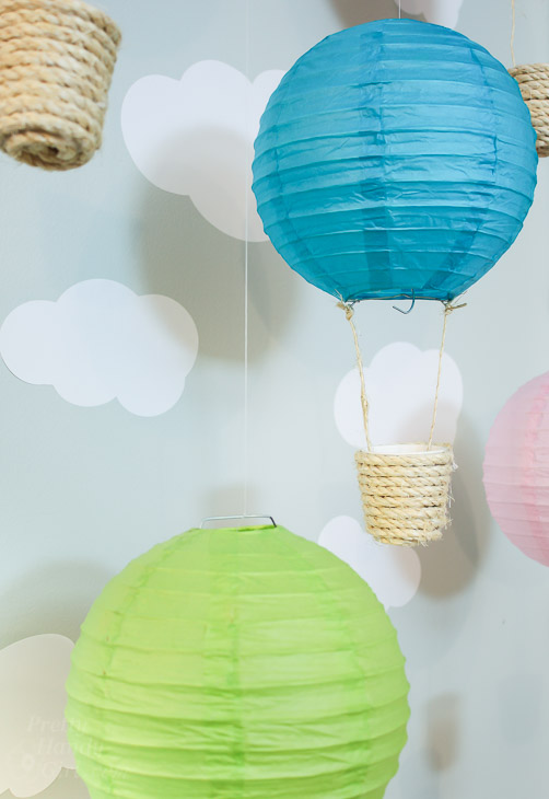 Easy to Make Hot Air Balloon Decorations | Pretty Handy Girl