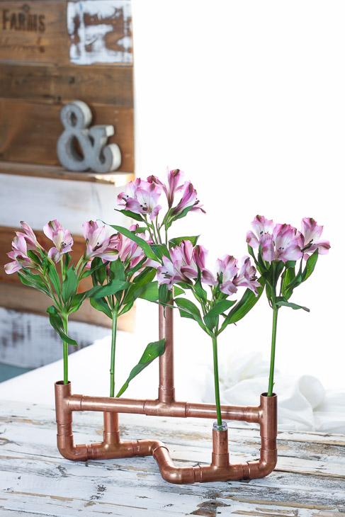 copper-centerpiece-flowers
