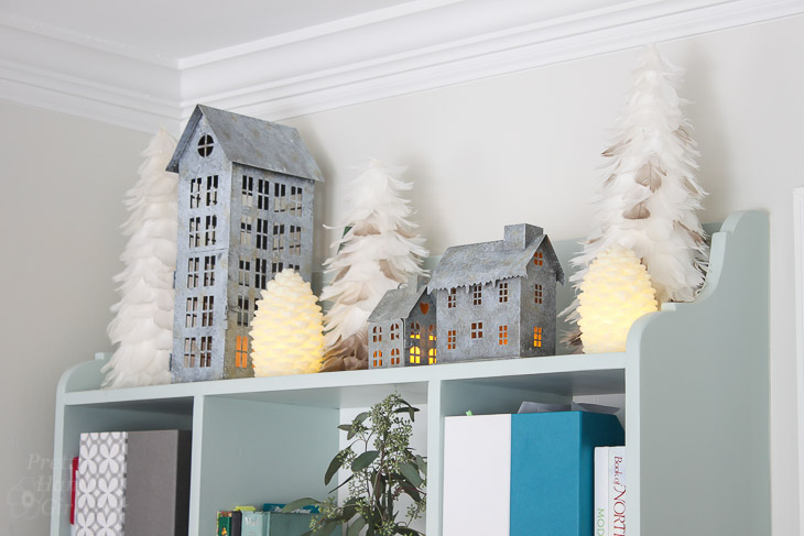 galvanized-village-christmas-decor