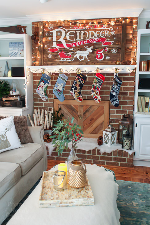living-room-rustic-sleigh-ride-mantle-vertical