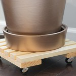 DIY Rolling Plant Caddy by Brittany Goldwyn-1