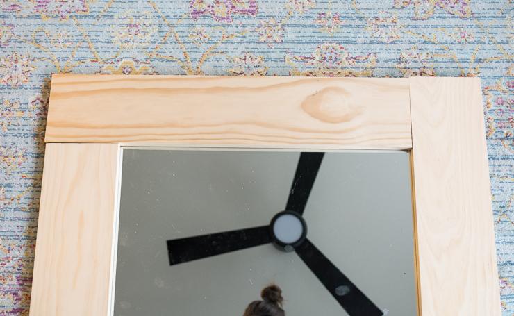 diy wood mirror frame. Diy Wood Mirror Frame