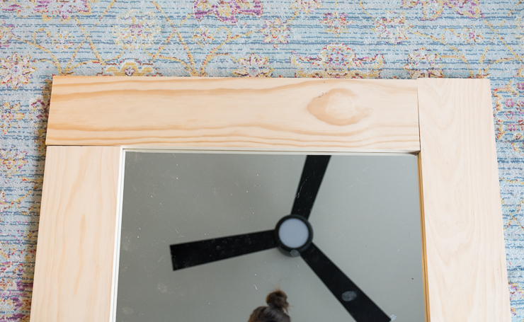 Diy Wood Framed Mirror Tutorial