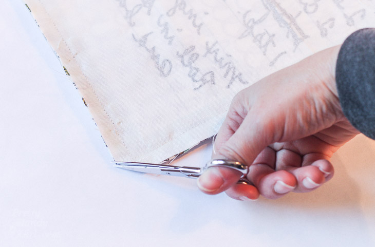 How to Sew Reversible Recipe Card Placemats   Pretty Handy Girl