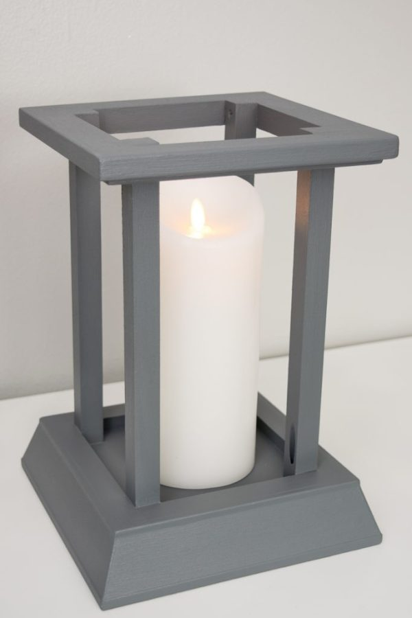 Diy Candle Lantern From Leftover Trim Pretty Handy Girl