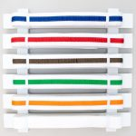 DIY Karate Belt Display