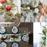 Beautiful Fall Tablescapes - Decorating Your Table for Fall
