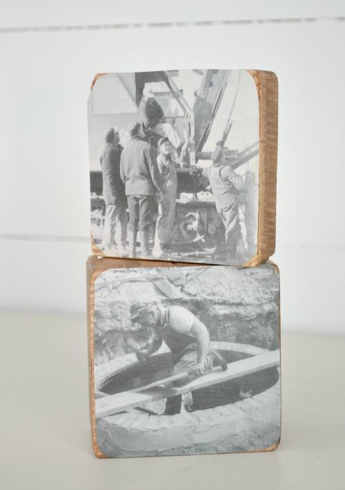 4x4 wood block frames