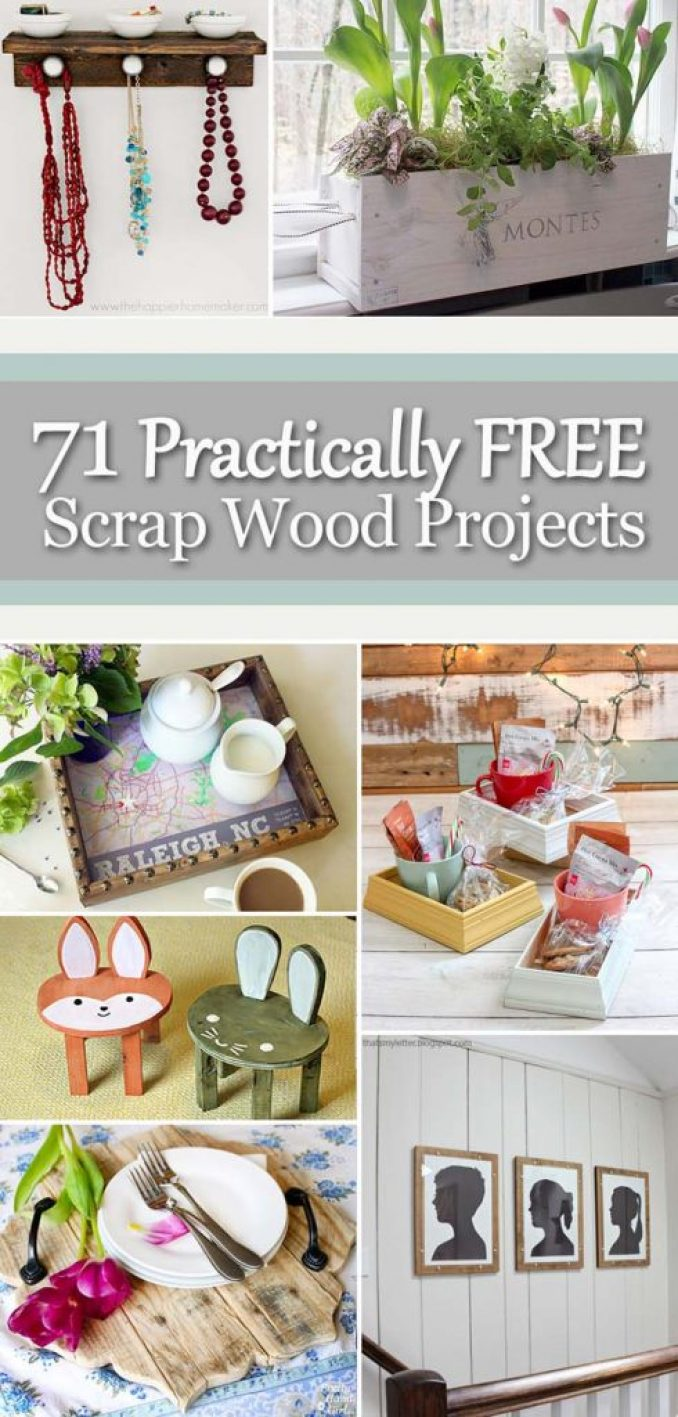71 Practically FREE Scrap Wood Projects