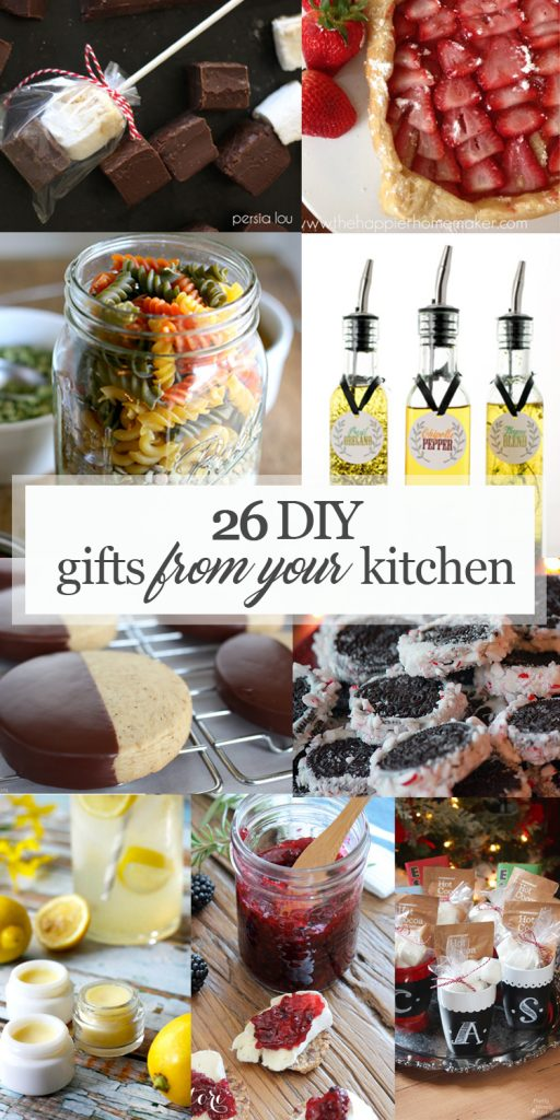 Gifts from your Kitchen Pinterest image