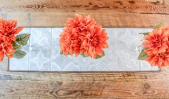 DIY Tile Centerpiece