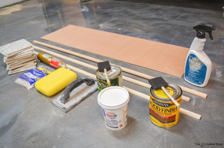 tile centerpiece supplies