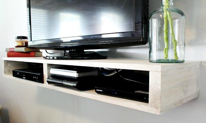Unique Floating Audio Video Cabinet