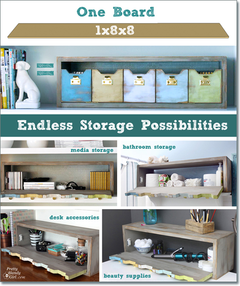 one board organization storage