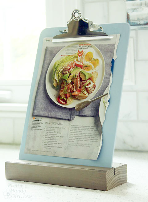 recipe clipboard stand
