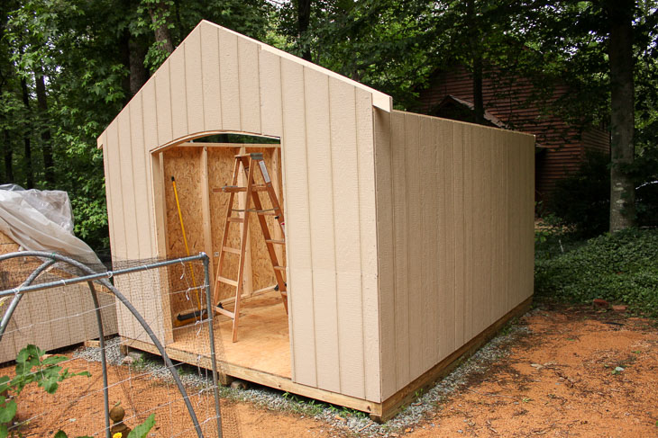 How I Built this Adorable Garden Shed