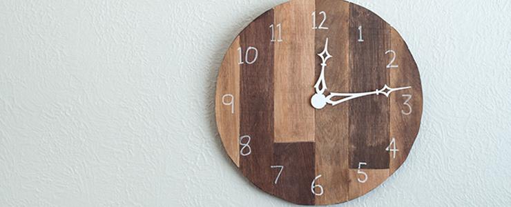 DIY Scrap Plywood Wall Clock