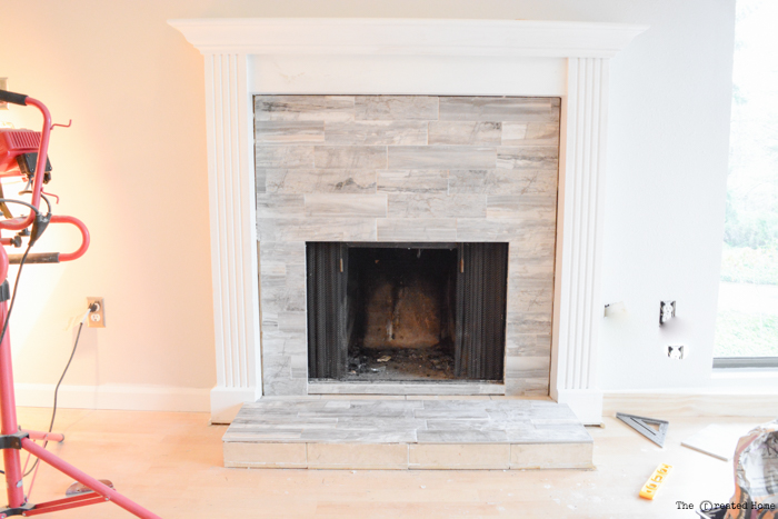how to tile a fireplace pretty handy girlTile Fire Place #6