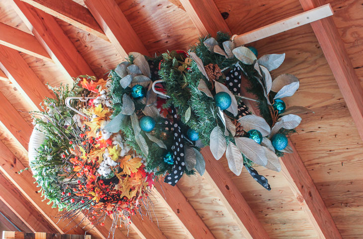 Storage Hacks for Holiday Decorations | Pretty Handy Girl