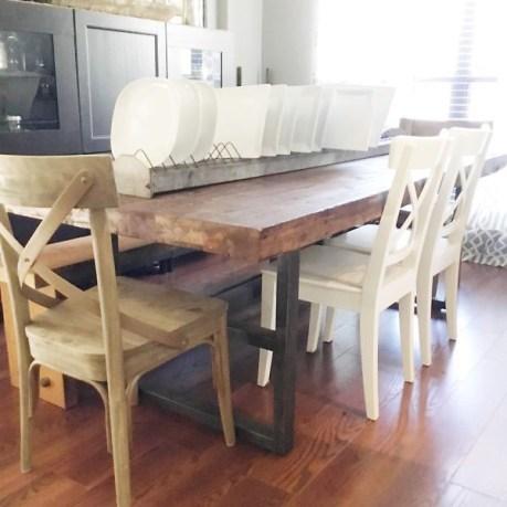 Diane & Dean DIY Farmhouse Table