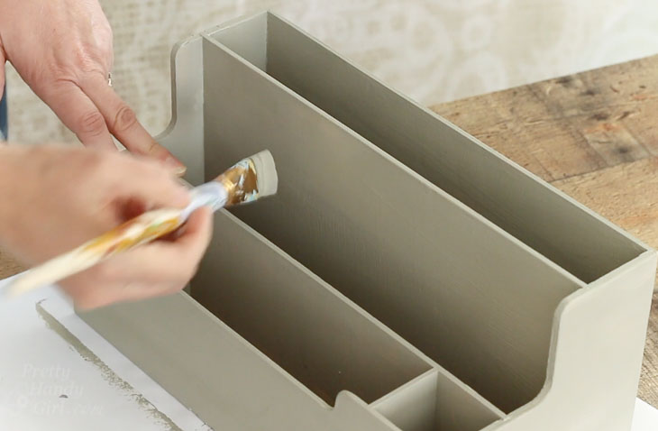 paint organizer if desired