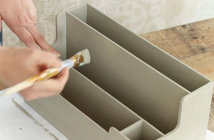 paint organizer if desired